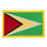 South America Flag Embroidered Patches - Guyana