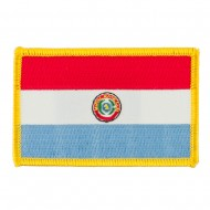 South America Flag Embroidered Patches - Paraguay