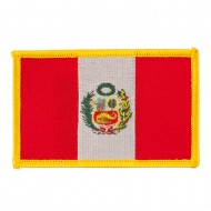 South America Flag Embroidered Patches - Peru