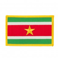 South America Flag Embroidered Patches - Suriname