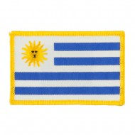 South America Flag Embroidered Patches - Uruguay
