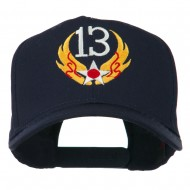 13th Air Force Badge Embroidered Cap - Navy