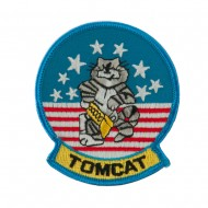 Navy Tomcat Embroidered Military Patch - Tomcat