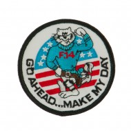 Navy Tomcat Embroidered Military Patch - Tomcat 2