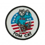 Navy Tomcat Embroidered Military Patch - Tomcat 3