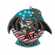 Navy Tomcat Embroidered Military Patch - Tomcat A