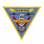 Triangular Navy Airfield Patches - Trawing