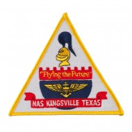 Triangular Navy Airfield Patches - NAS Texas