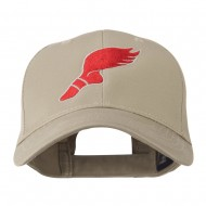 Track Shoe with Wing Embroidered Cap - Khaki