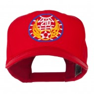 20th Air Force Military Badge Embroidered Cap - Red