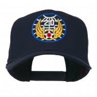 20th Air Force Military Badge Embroidered Cap - Navy