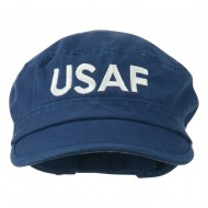 USAF Embroidered Enzyme Army Cap - Navy