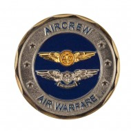 U.S. Navy Division Coin - Silver Air-Warfare