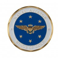 U.S. Navy Division Coin - Blue Aviator