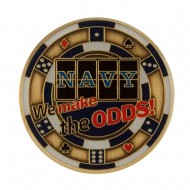 U.S. Navy Division Coin - Black Casino