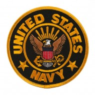United States Navy Patches - Navy Eagle On Anchor
