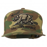 Vintage Embroidered California Bear Cap - Woodland