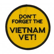 Veteran Embroidered Military Patch - Don't Forget