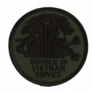 Veteran Embroidered Military Patch - Viet Service