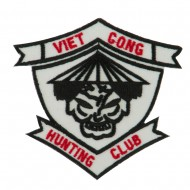 Veteran Embroidered Military Patch - Vietcong