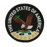Veteran Embroidered Military Patch - USA