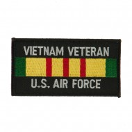 Veteran Rectangle Embroidered Military Patch - VN AF