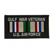 Veteran Rectangle Embroidered Military Patch - GW AF