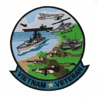 Wars And Operation Patches - Vietnam Veteran