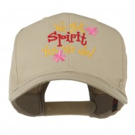We Got Spirit Yes We Do Embroidered Cap - Khaki