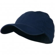 Washed Natural Fit Cap - Navy