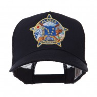 USA Western State Police Embroidered Patch Cap - AK Troopers