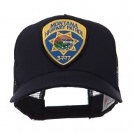USA Western State Police Embroidered Patch Cap - MT Hwy