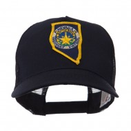 USA Western State Police Embroidered Patch Cap - NV Hwy