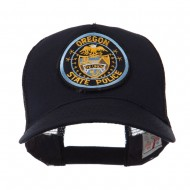 USA Western State Police Embroidered Patch Cap - OR State