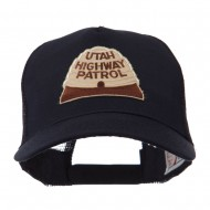 USA Western State Police Embroidered Patch Cap - UT Hwy