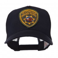 USA Western State Police Embroidered Patch Cap - WY Hwy
