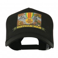 War and Operation Embroidered Military Patched Cap - Vietnam War