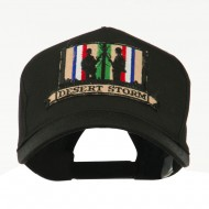 War and Operation Embroidered Military Patched Cap - Desert Storm 4