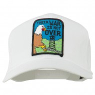 Their War Not Over Military Patch Cap - White