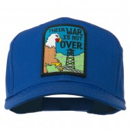 Their War Not Over Military Patch Cap - Royal