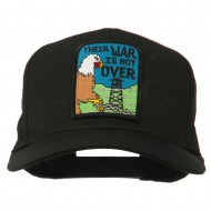 Their War Not Over Military Patch Cap - Black