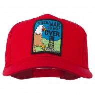 Their War Not Over Military Patch Cap - Red