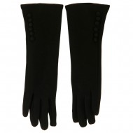 Women's Long Sleeve Texting Glove - Black