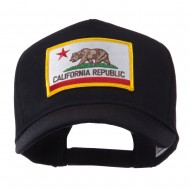 USA Western State Embroidered Patch Cap - California