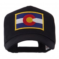 USA Western State Embroidered Patch Cap - Colorado