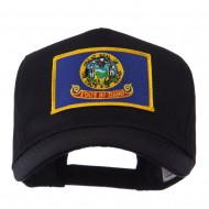 USA Western State Embroidered Patch Cap - Idaho