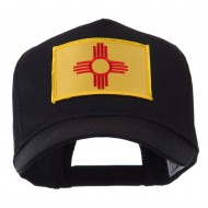 USA Western State Embroidered Patch Cap - New Mexico