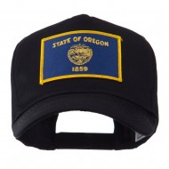 USA Western State Embroidered Patch Cap - Oregon