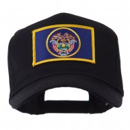 USA Western State Embroidered Patch Cap - Utah