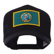 USA Western State Embroidered Patch Cap - Washington